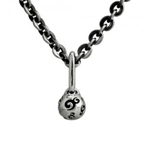 "Ohm Ball Necklace (36""/90cm)"