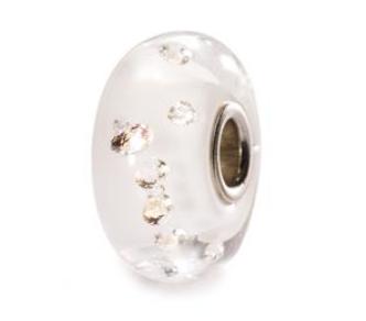 The Diamond  Bead, white