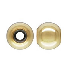 Isabella Charms - Stopper Bead GP Polished 8mm
