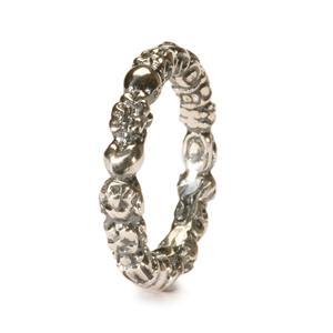 Troll ring, silver