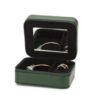 Dark Green Jewellery Box