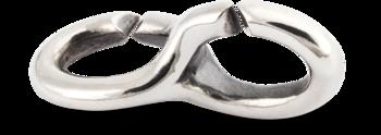 Dobbelt silver link