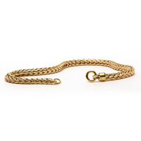 Gold 14ct Bracelet, without lock, 18 cm.