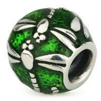 Ohm Dragonfly Green Enamel