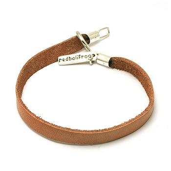 Leather Strap tan 18 cm